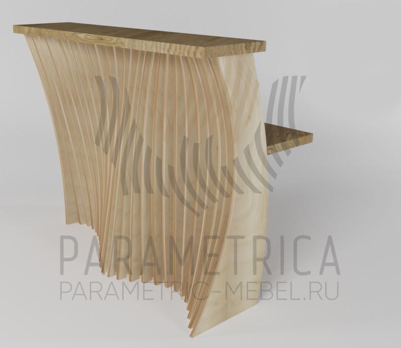 Параметрический ресепшн модель KOLU