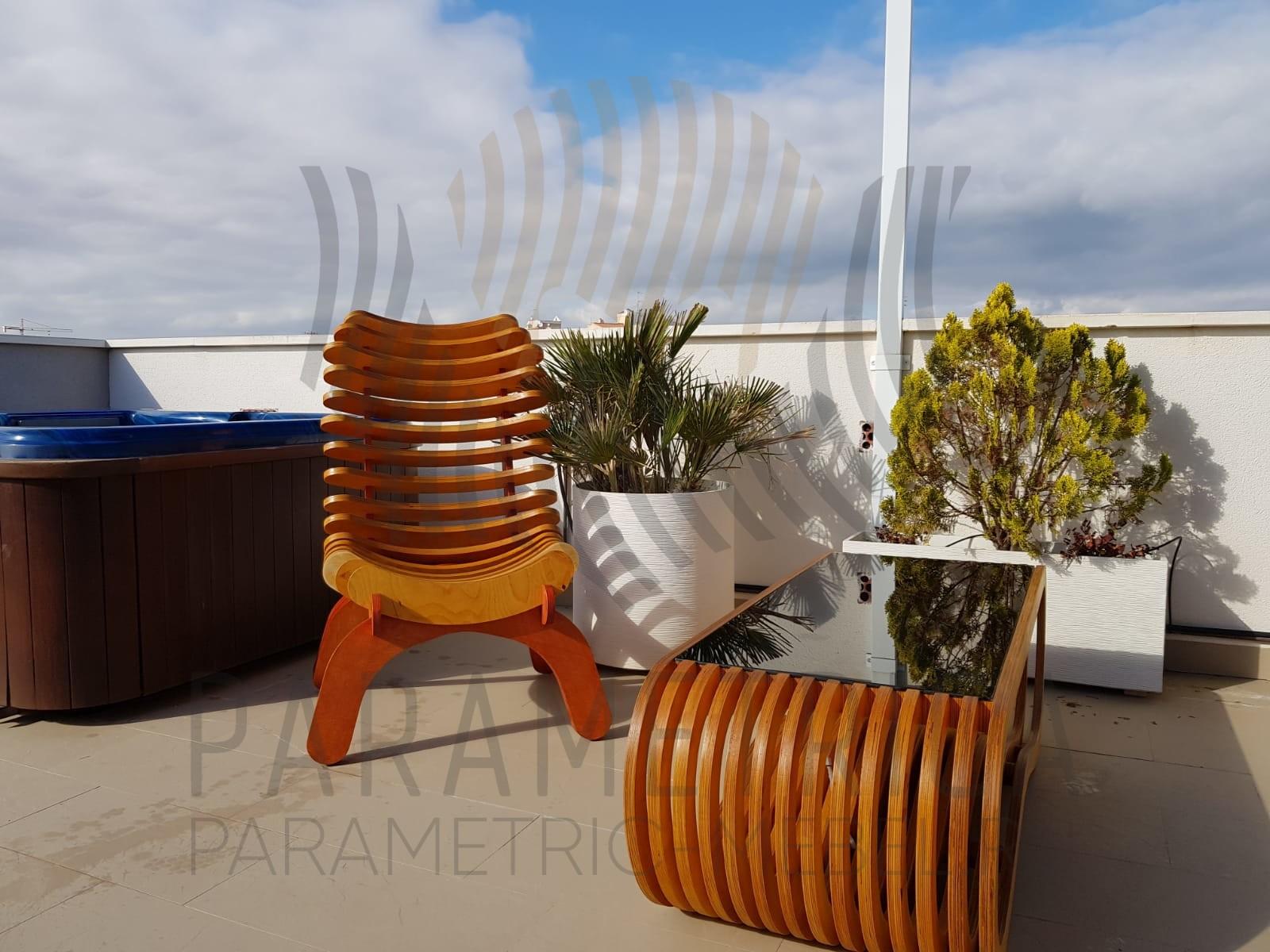 Параметрический стол WAVE