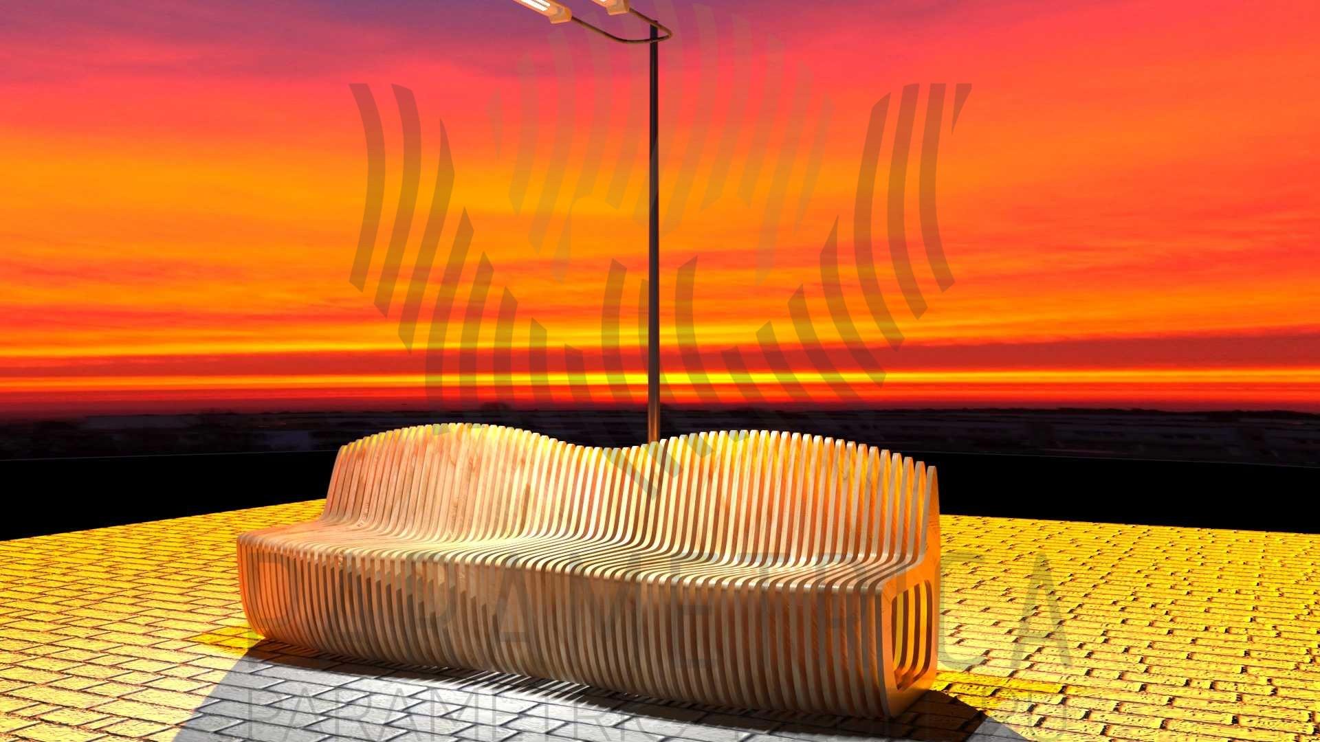 Параметрическая скамья WAVE