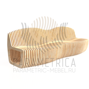 Parametric Wave bench