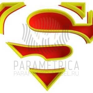 Настенная полка Супергерой