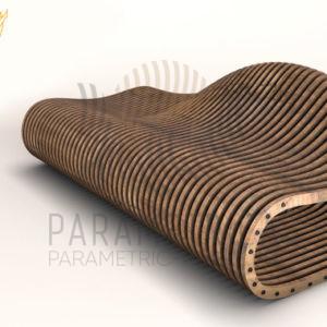 Параметрическая скамья P.F 3.1
