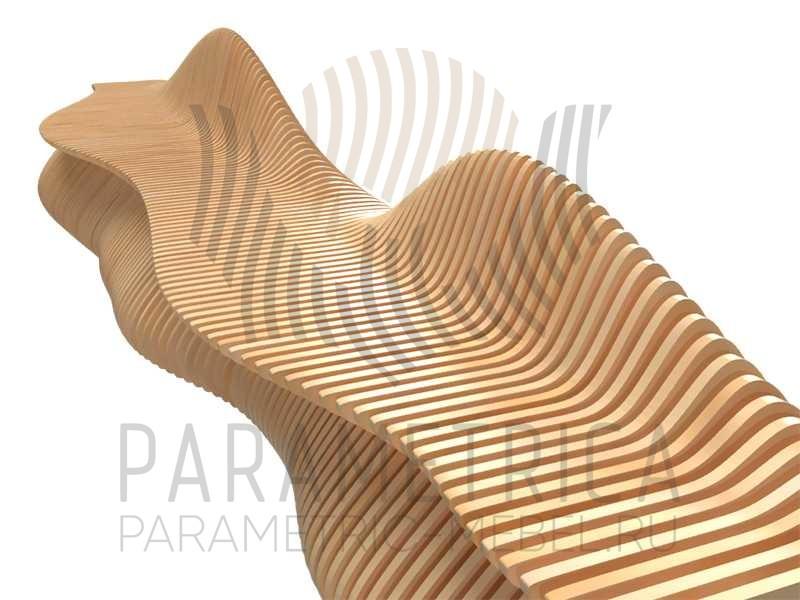 Parametric-mebel_bench_outdoor