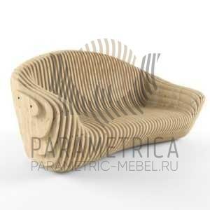 Параметрический диван Comfort