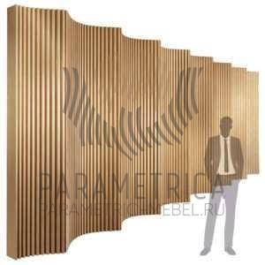 Стена Wave