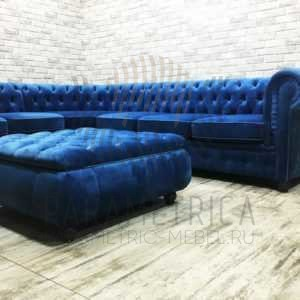 """Угловой диван """"Chesterfield"""""""