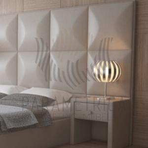 """Двуспальная кровать """"VISION 3D"""""""