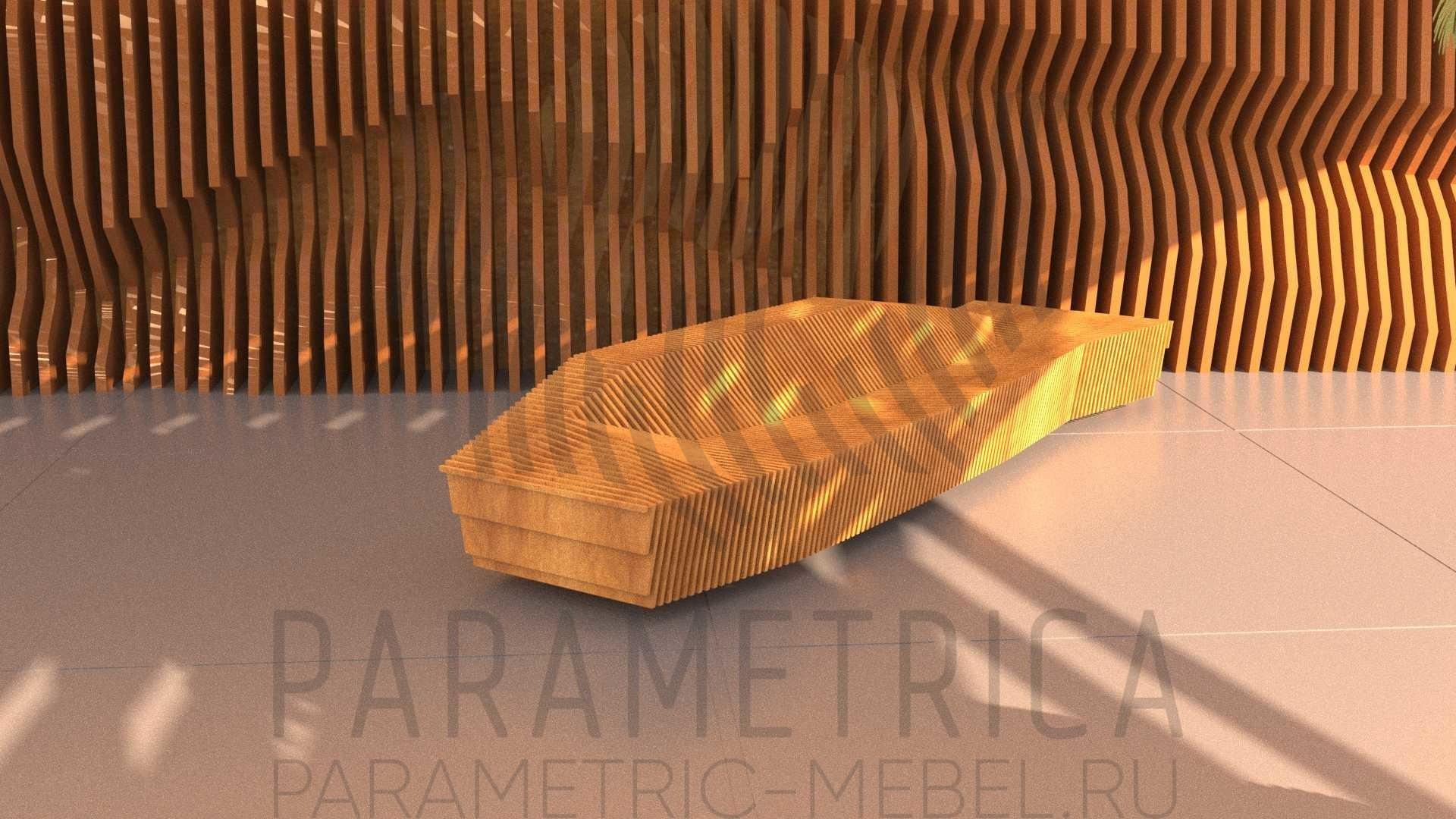 Параметрическая скамья STARHIP