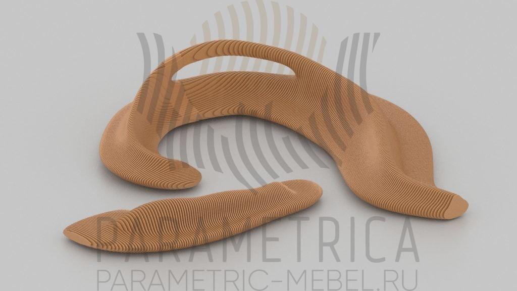 Parametric-mebel_bench