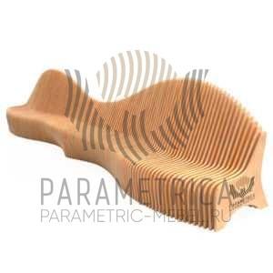 Параметрическая скамья Style