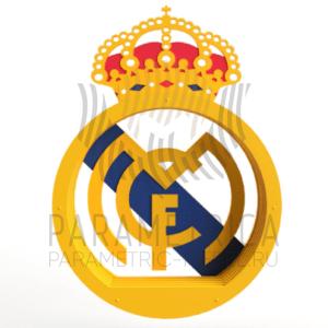 Деревянная полка Реал Мадрид.
