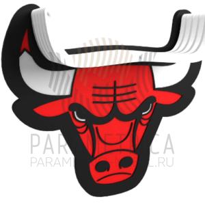 Деревянный декор Chicago Bulls