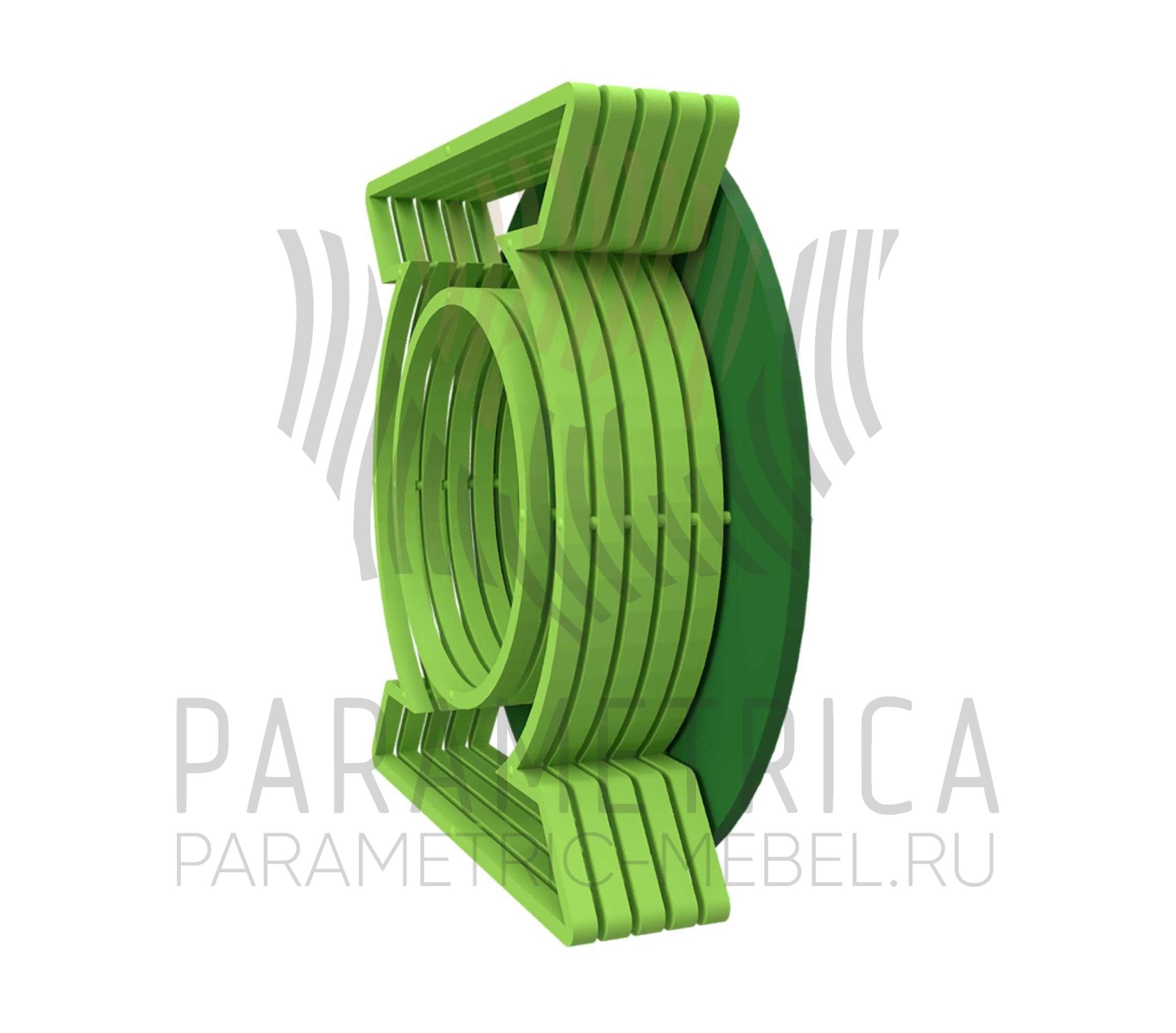 Деревянная полка Green Lantern