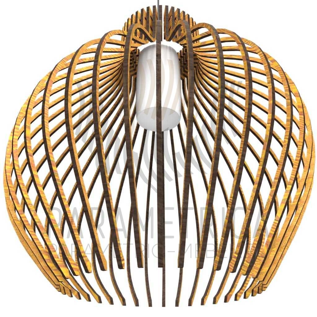 Дизайнерский светильник Piegatto guizi